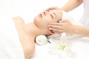 エステ Face massage